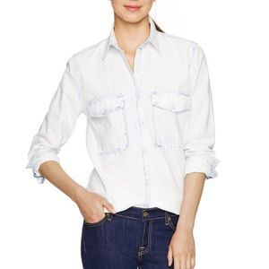 Aritzia Community Ergo Shirt Bleach Blue Size XS